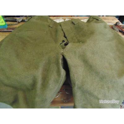 pantalon troupe cavalerie Français  seconde ww2 neuf de malle cadre ou riche réserviste grande taile