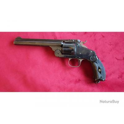 Magnifique revolver Smith & Wesson N°3 cal 44 Russian