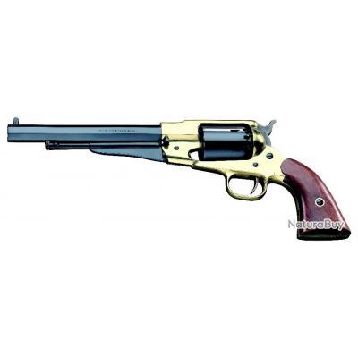 Revolver poudre noire Pietta Remington 1858 laiton Cal 44.
