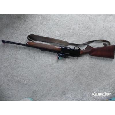 je vends carabine  de chasse semi automatique bar  browning 270 win plus visée aimpoint mack3