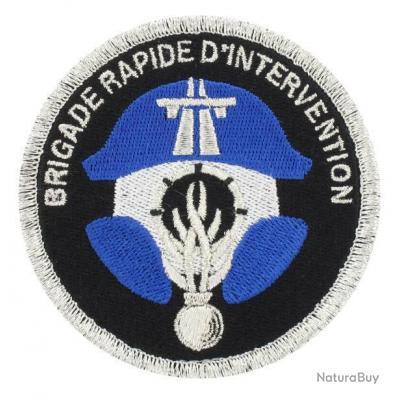 Agréé DGGN Écusson Brigade Rapide d/'Intervention