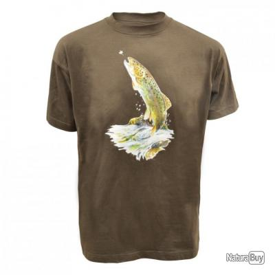 Tee shirt truite Taille 2