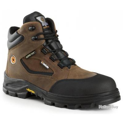 Chaussures de sécurité Gore Tex Jallatte Jalroche Marron