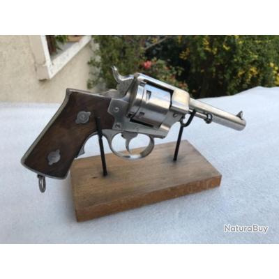 Revolver lefaucheux ml 1870 11 mm canon marque lefaucheux brte sgdg a paris 1 modele a crosse large
