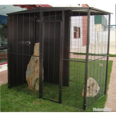 Volière de jardin cage perroquet voliere amazone cacatoes eclectus NEUF 13O