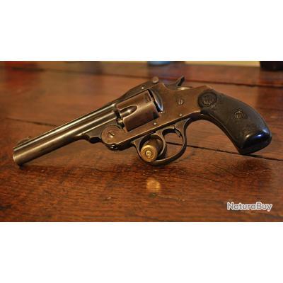 """Beau revolver Iver & Johnson 38 - Canon de 4"""""""