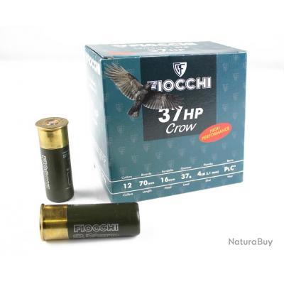 1 carton de 250 Cartouches Fiocchi 37 HP CORBEAU C/12/70/16 - 37G - PB 4
