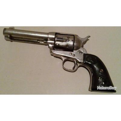 Colt SA A model P en 45 long colt finition  nickel  pacemaker année 1885 full west 1885 nouveau prix