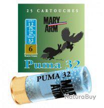 Cartouche PUMA 32 cal 12 Mary Arm Plomb