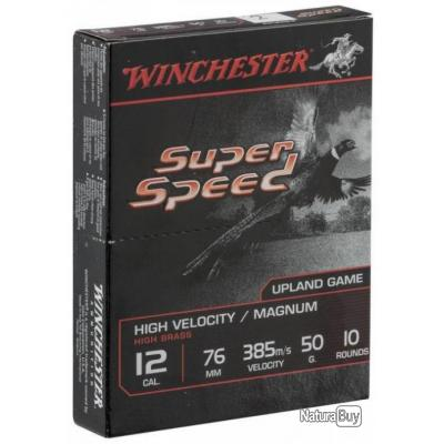 Cartouches Winchester Super Speed G2 50 BJ cal 12 Plomb