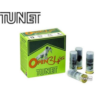 Cartouches Tunet open 34 BG cal 12-Plomb 7.5