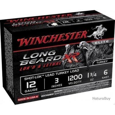 Cartouches Winchester long beard XR cal 12 76 Plomb