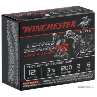 Cartouches Winchester long beard XR cal 12 89 Plomb