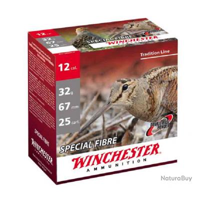 Cartouches Winchester special fibre 32 BG cal 12 Plomb