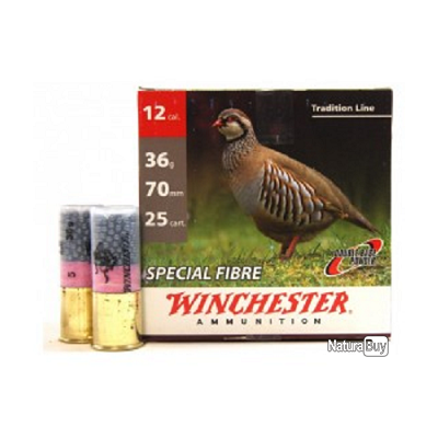 Cartouches Winchester special fibre 36 BG cal 12-Plomb 7