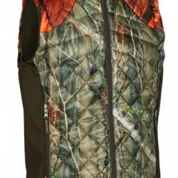 Doudoune sans manches camouflage IN EQ Cumberland Quilted