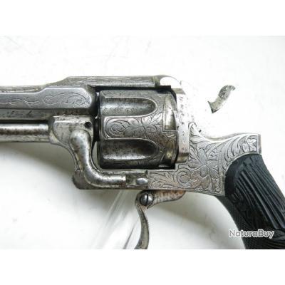 [RARE] Magnifique revolver à cartouche poudre noire Maquaire - CAT D2 (VENTE LIBRE)