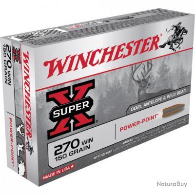 balles winchester super X 222 rem 50grains