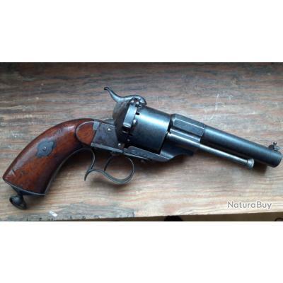 revolver  militaire LEFAUCHEUX 1854 commande de 1861