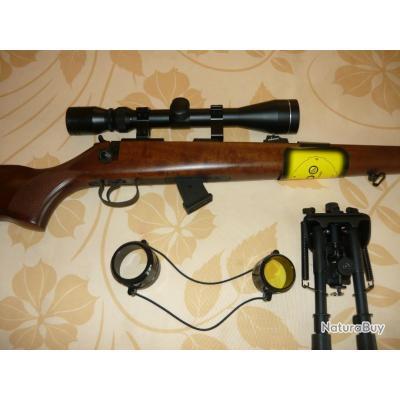 PACK carabine CZ 455  Luxe 22 lr Bois noyer +lunette 3/9+40 + bipied