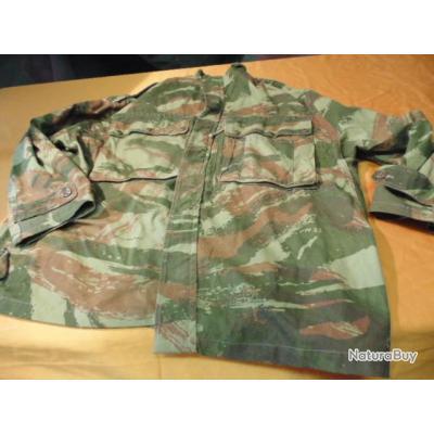 veste  treillis camouflée mod 47/56 Algérie authentique Para Parachutiste légion