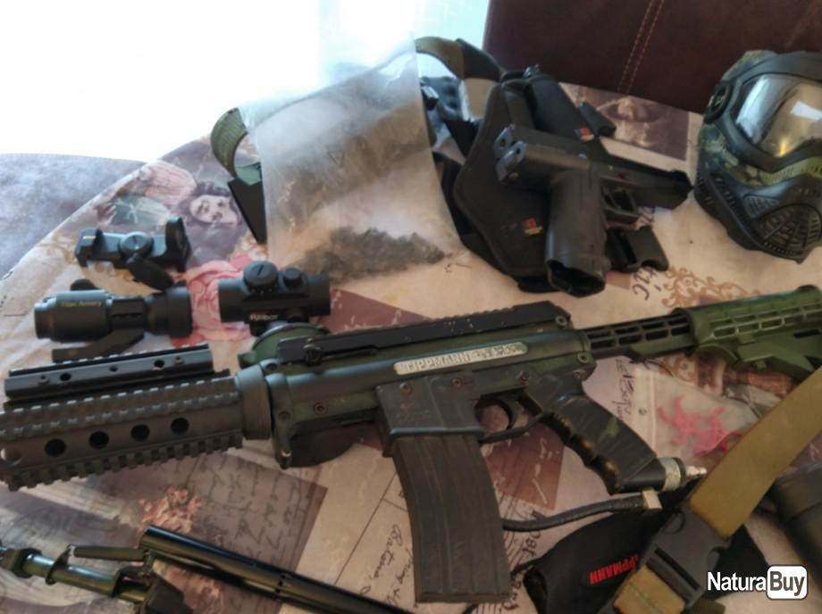 Annonce billes paintball : Kit paintball