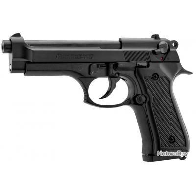 PROMO Pistolet a Blanc Semi Automatique Kimar Berreta 92 + Malette + 10 balles 9mm PAK + Lance Fusée