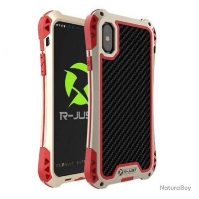 Coque anti-choc étanche Titan Premium pour Iphone - 5 couleurs - Or / Iphone 7 Plus / Rouge