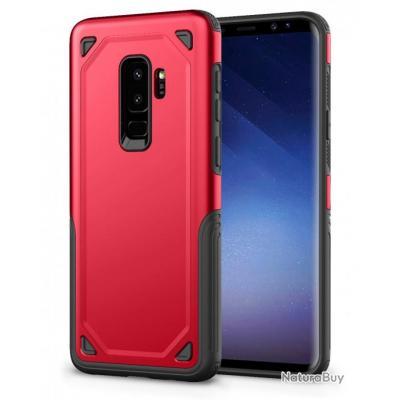 Coque anti-choc Heavy Duty pour Samsung - 7 couleurs - Rouge / Galaxy S7