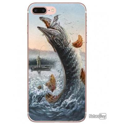 coque iphone 8 peche