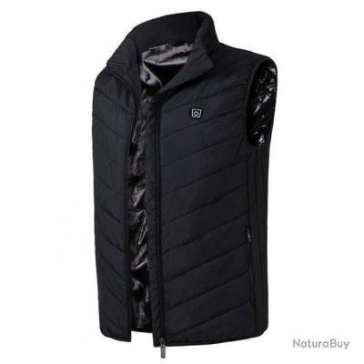Gilet chauffant Elite Heat PwB - XL / Noir