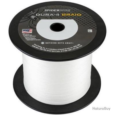 Tresse Spiderwire Dura 4 Translucide - 1800 m - 12/100 - 10,5 kg