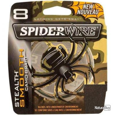 Tresse Spiderwire Smooth 8 Camo - 1800 m - 6/100 - 6.6 kg