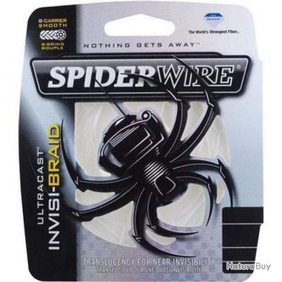 Tresse Spiderwire Ultracast Invisi-Braid Translucide - 110 m - 30/100 - 30,6 kg