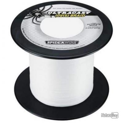 Tresse Spiderwire Ultracast Ultimate Braid Translucide - 1800 m - 17/100 - 18,1 kg