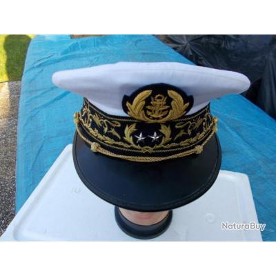 vente de sortie aspect esthétique modèle unique Casquette amiral marine francaise,bon état - Casquettes ...
