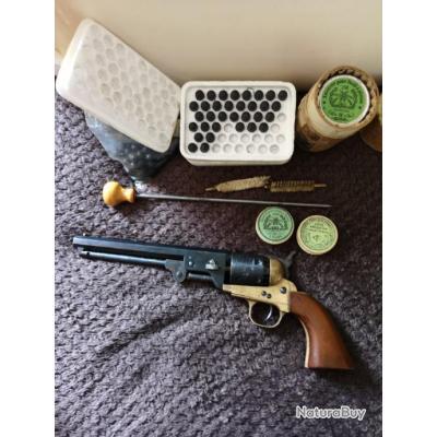 Revolver Patent Navy 1851 d'excellente facture réalisé avant 1964