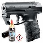 PROMO: Le Pistolet De Défense Lacrymogène Walther PDP + 1 Cartouche de Gaz