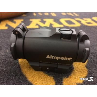 Point rouge Aimpoint Micro H2 neuf RAIL OFFERT