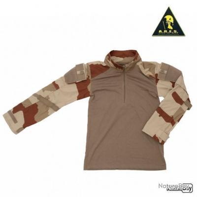 Chemise de combat ARES Ubas Camouflage Desert