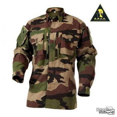 Chemise de Combat ARES Camouflage Camo CE Centre Europe