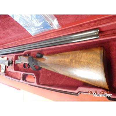 Fusil juxtaposé Fausti MDS Jaspé d'occasion 70 mm 71 cm 28, ETAT NEUF