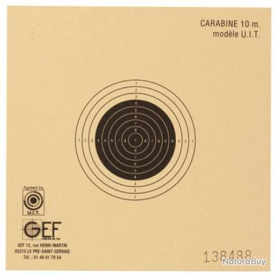 Cible carabine 10 m