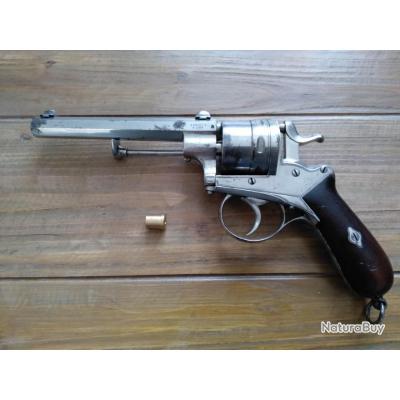 Revolver A.FRANCOTTE calibre 12mm galand / perrin