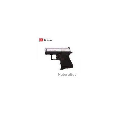 PROMO!! Pistolet à blanc 7 coups Ekol Botan Noir/Chromé  Mat calibre 9mm + Malette + 10 Balles