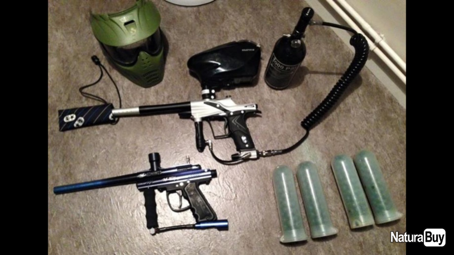 Annonce billes paintball : Vend Pack Paintball Eclipse / VL.