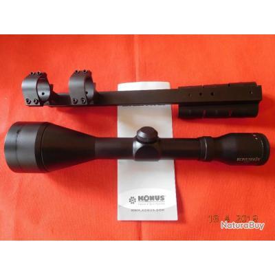 KONUS lunette de hutte pour fusil juxtaposé cal12, neuf, 9x63