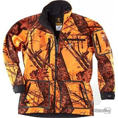 Browning Veste de Chasse Hell's Canyon Odorsmart Orange Blaze