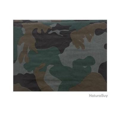Toile de protection camouflage 2 x 3 mètres A