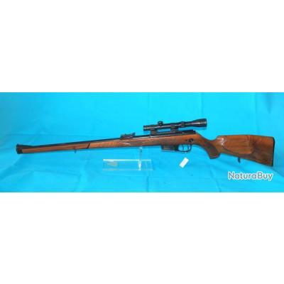 Carabine à verrou Walhter, stutzen, Calibre 22 mag, détente stetcher, avec lunette de visée